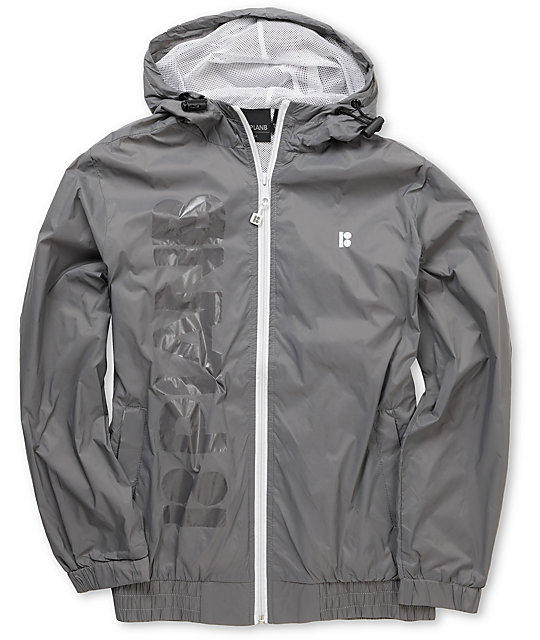 Plan B Choice Grey Boys Windbreaker Jacket at Zumiez : PDP