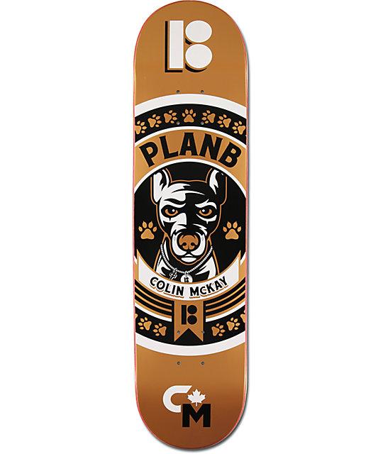 "Plan B Colin McKay Crest 2 7.7""  Skateboard Deck"