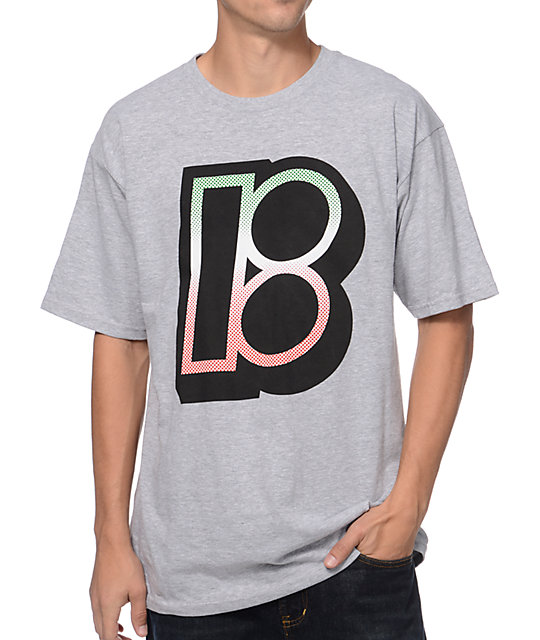 Plan B Faded Heather Grey T-Shirt
