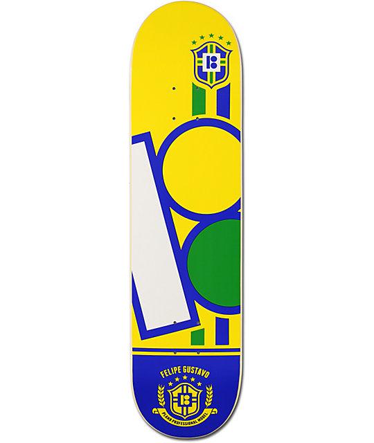 "Plan B Felipe Cup Series 8.0""  Skateboard Deck"