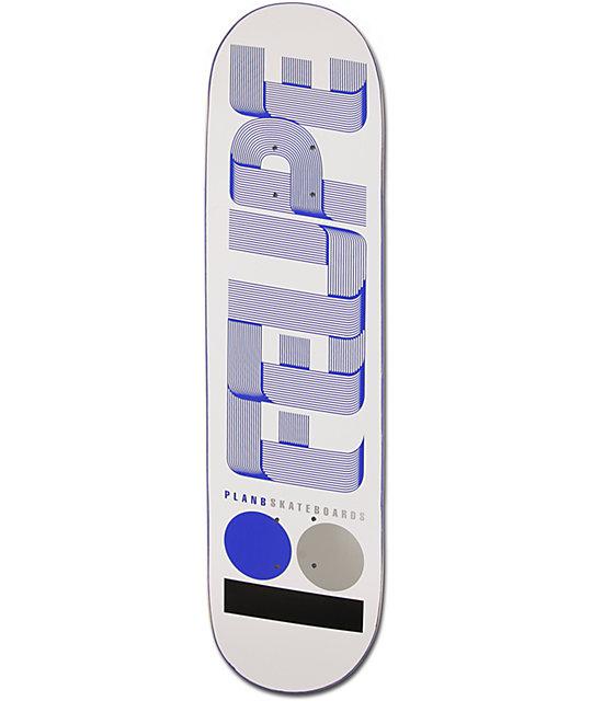 """Plan B Felipe Hyper 8.0""""  Skateboard Deck"""