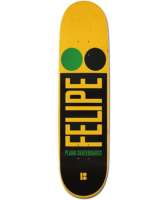 "Plan B Felipe Lucid 8.125""  Skateboard Deck"