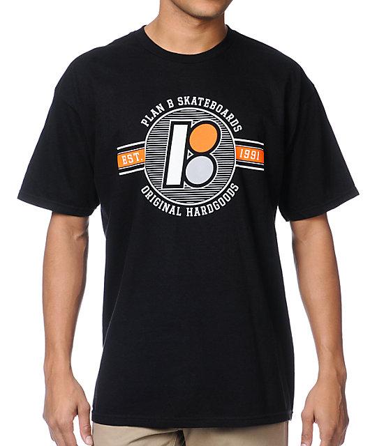 Plan B Flyer Black T-Shirt