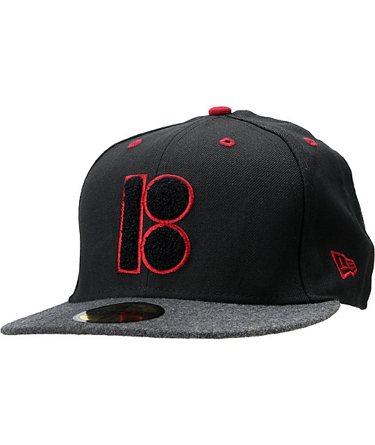 Plan B Grade A Black New Era Fitted Hat