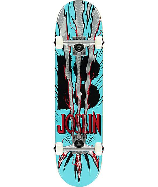 "Plan B Joslin Snikt 2 7.6"" Mini Skateboard Complete"