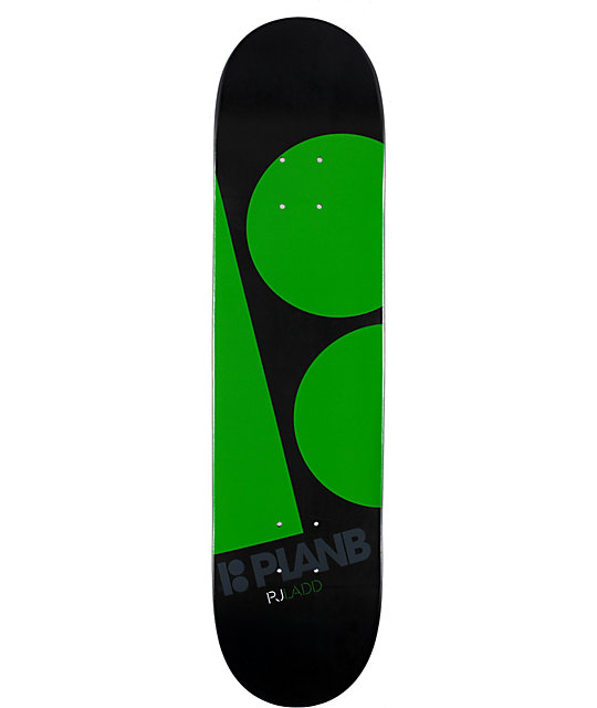 "Plan B Ladd Black Ops 7.75""  Skateboard Deck"