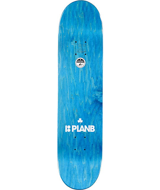 "Plan B Ladd Bostonian 7.75""  Skateboard Deck"