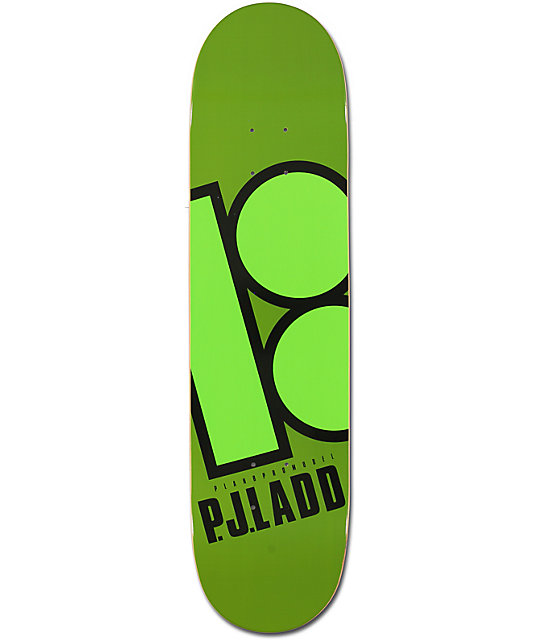 "Plan B Ladd Bright 7.87""  Skateboard Deck"
