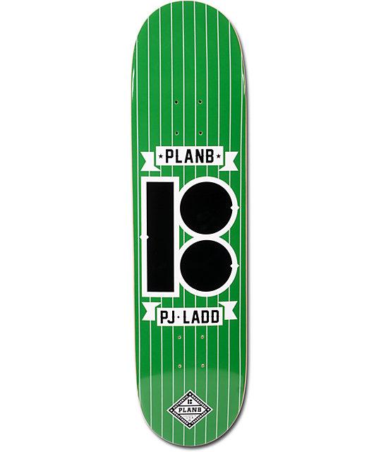 "Plan B Ladd Pinstripe 8.0""  Skateboard Deck"