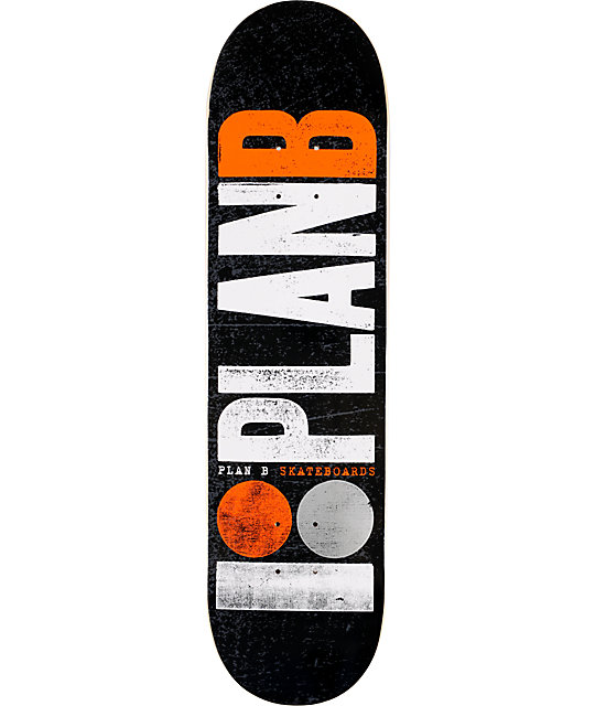 "Plan B OG Logo 8.0""  Skateboard Deck"