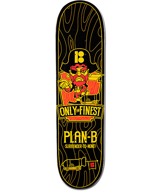 "Plan B Only The Finest 7.6""  Mini Skateboard Deck"