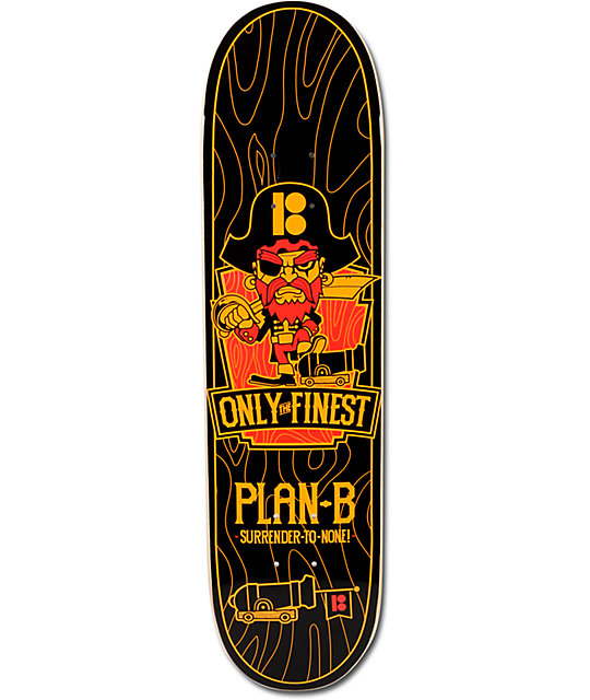 "Plan B Only The Finest 7.625""  Mini Skateboard Deck"