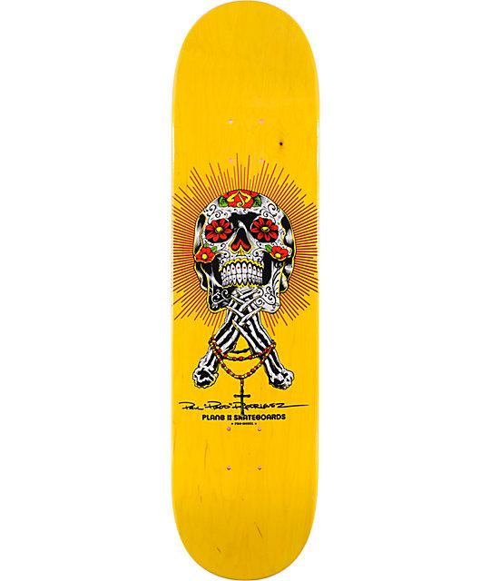 "Plan B P-Rod Calavera 8.0""  Skateboard Deck"