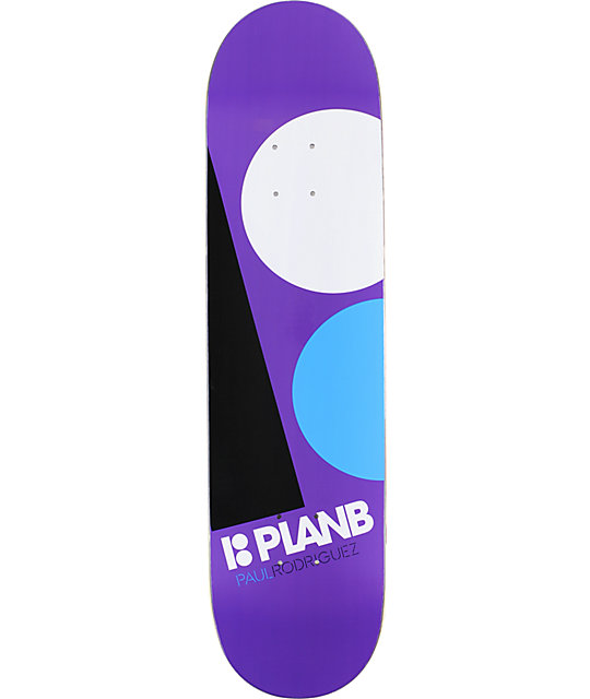 "Plan B P-Rod Massive 8.0""  Prolite Skateboard Deck"