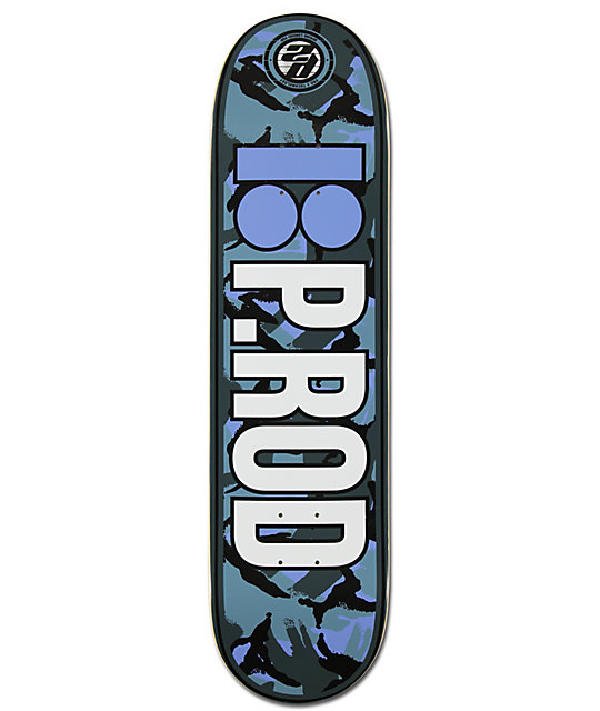 "Plan B P-Rod Urban P2 8.0""  skateboard Deck"