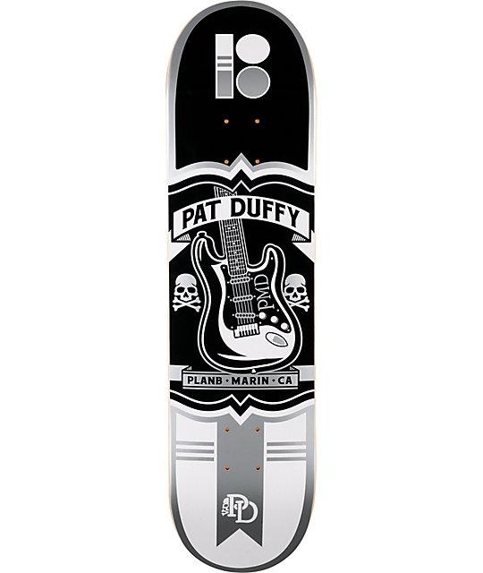 "Plan B Pat Duffy Crest 8.0""  Skateboard Deck"