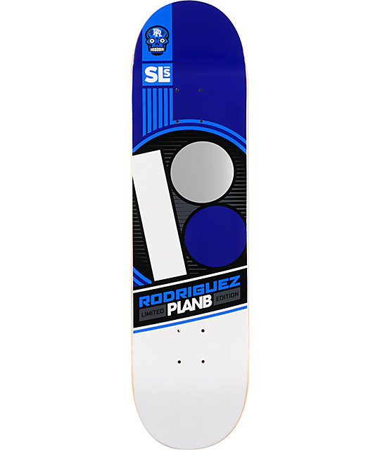 "Plan B Paul Rodriguez Street League 8""  Skate Deck"
