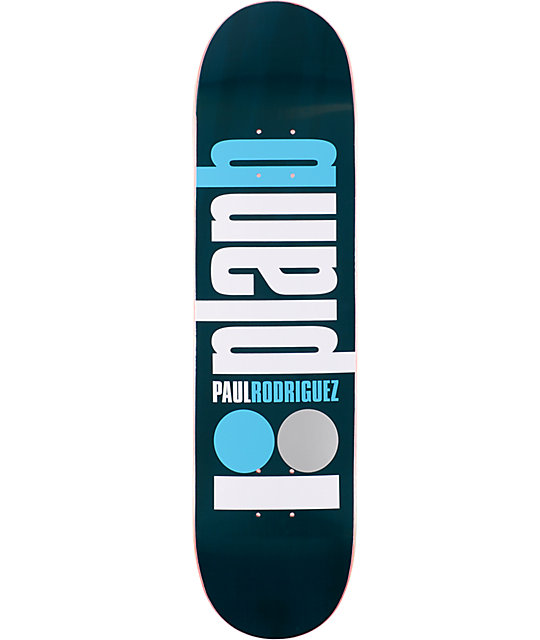 "Plan B Public P.Rod 8.0""  Skateboard Deck"