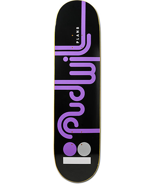 "Plan B Pudwill Connect 7.8"" Skateboard Deck"