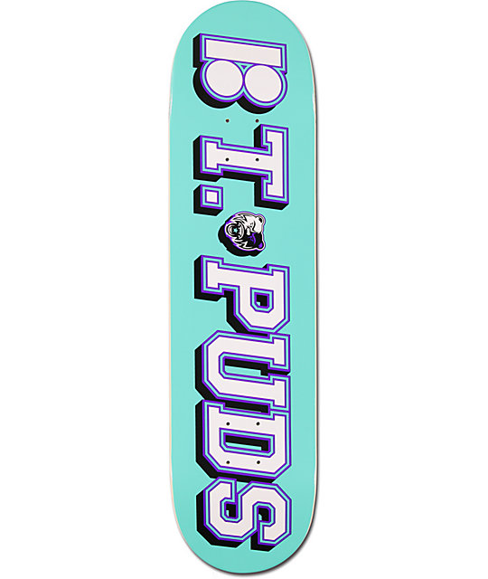 "Plan B Pudwill Gameday 8.0""  Skateboard Deck"
