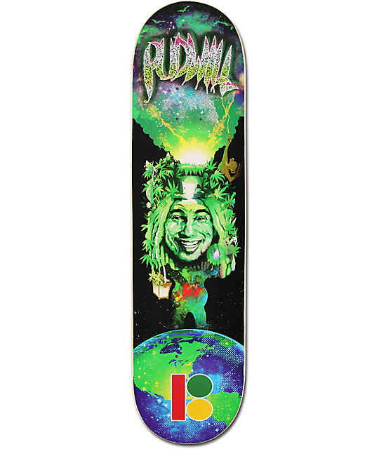 "Plan B Pudwill Nature Boy 8.0""  Skateboard Deck"