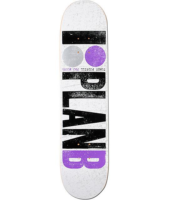 "Plan B Pudwill OG 7.5""  Skateboard Deck"