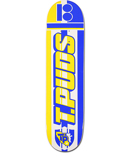 "Plan B Pudwill Scarf 7.75""  Skateboard Deck"