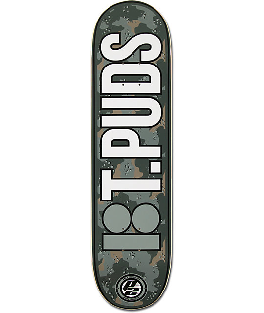 "Plan B Pudwill Urban 8.0""  P2 Skateboard Deck"
