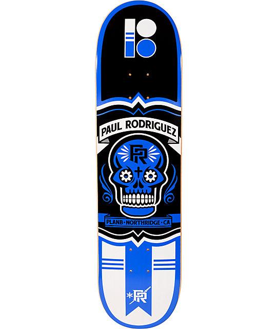 "Plan B Rodriguez Crest 8.0""  Skateboard Deck"