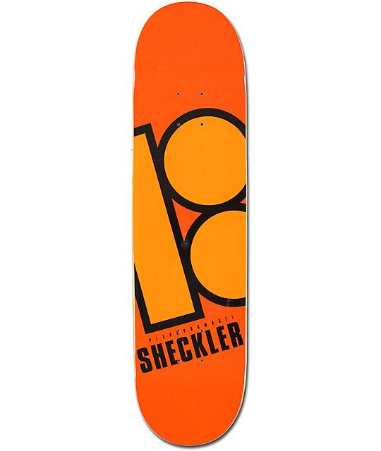 "Plan B Sheckler Bright 8.0""  Skateboard Deck"