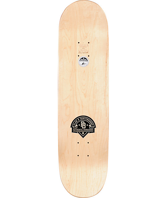 "Plan B Sheckler Era 8.25""  Skateboard Deck"