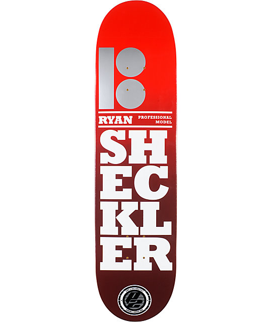 "Plan B Sheckler Stacked P2 8.125""  Skateboard Deck"
