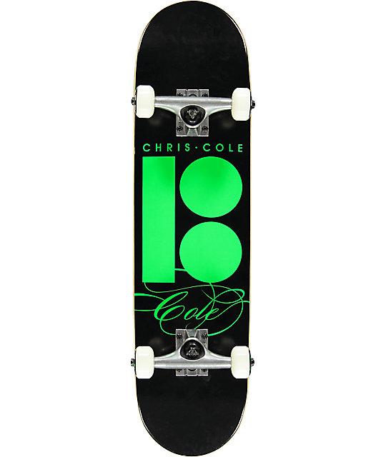 "Plan B Signature Cole 7.6"" Mini Skateboard Complete"