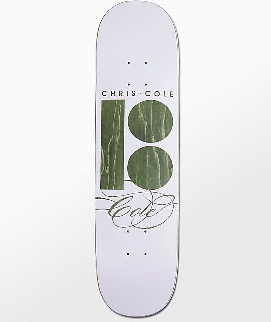 "Plan B Signature Cole 8.25"" Skateboard Deck"