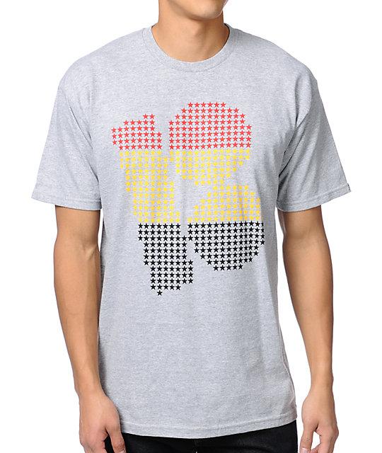 Plan B Stars Heather Grey T-Shirt