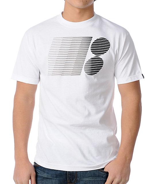 Plan B Stars White Skate T-Shirt