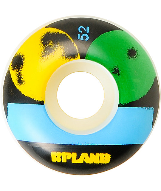 Plan B Stencil 52mm Skateboard Wheels