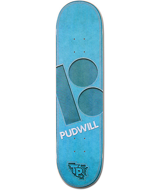 "Plan B T-Pud Leather 7.75""  Skateboard Deck"