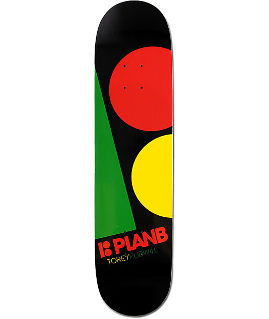 "Plan B T.Pud Massive 7.75""  ProLite Skateboard Deck"