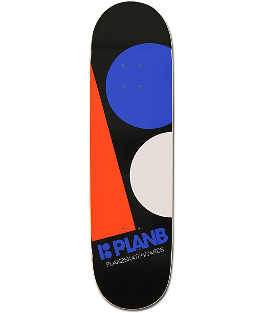 "Plan B Team Massive 8.4""  Skateboard Deck"