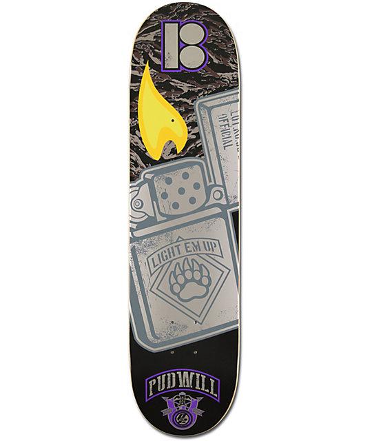 """Plan B Torey Pudwill Lighter P2 7.75""""  Skateboard Deck"""