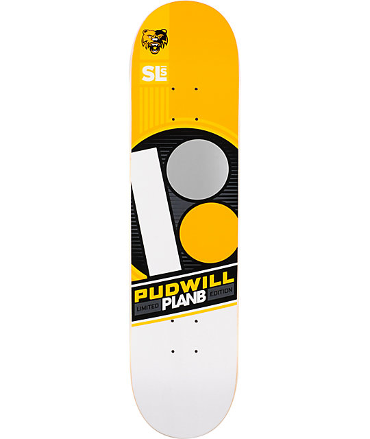 "Plan B Torey Pudwill Street League 7.75""  Skate Deck"