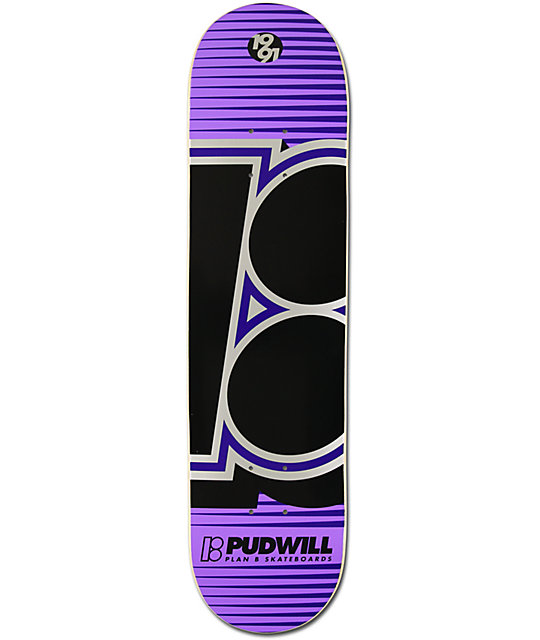 "Plan B Torey Pudwill Swift 7.75""  Skateboard Deck"