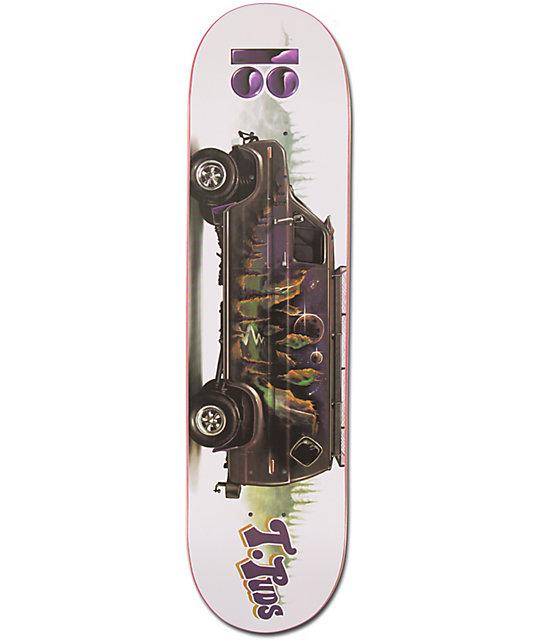 "Plan B Torey Pudwill Vantastic 8.0""  Skateboard Deck"