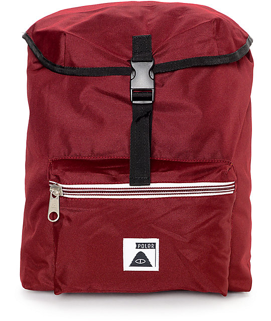 Poler Field Burgundy 14L Backpack