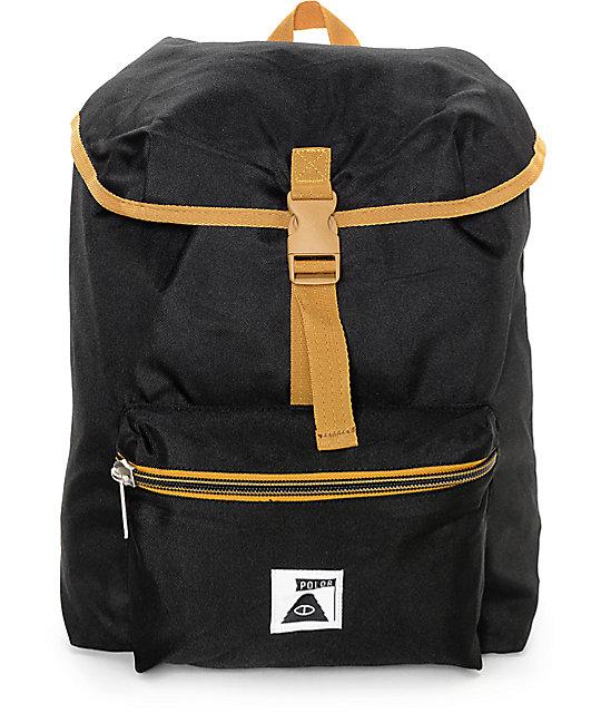 Poler Field Pack Black 14L Backpack