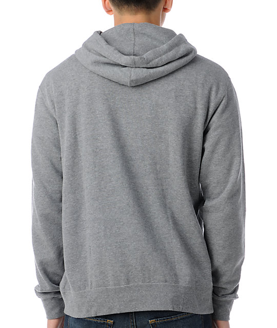 Poler Psychedelic Heather Grey Pullover Hoodie