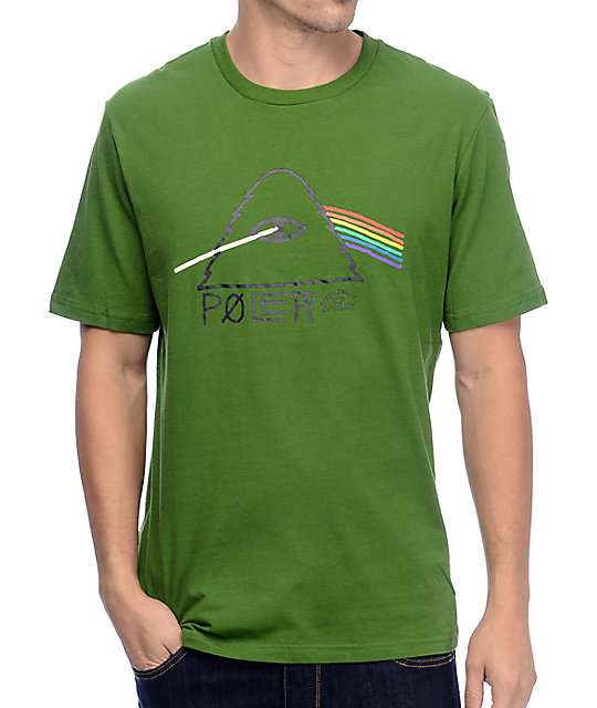 Poler Psychedlic Green T-Shirt