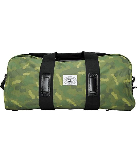 Poler Stuff Duffaluffagus Camo Duffel Bag