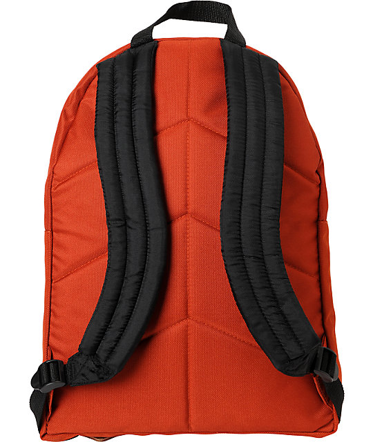 Poler Stuff The Day Pack Orange Laptop Backpack